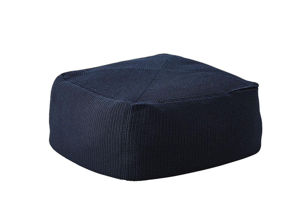 Divine Indoor/Outdoor Ottomanl Midnight Blue
