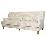 Natural Stripe 3 Seat Sofa