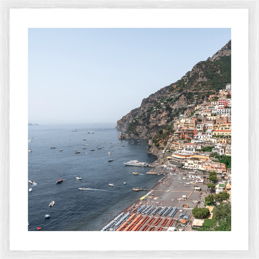 Amalfi Coast Photographic Print with Frame