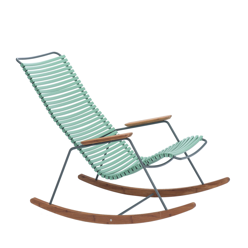 Click Outdoor Rocking Chair Dusty Light Green