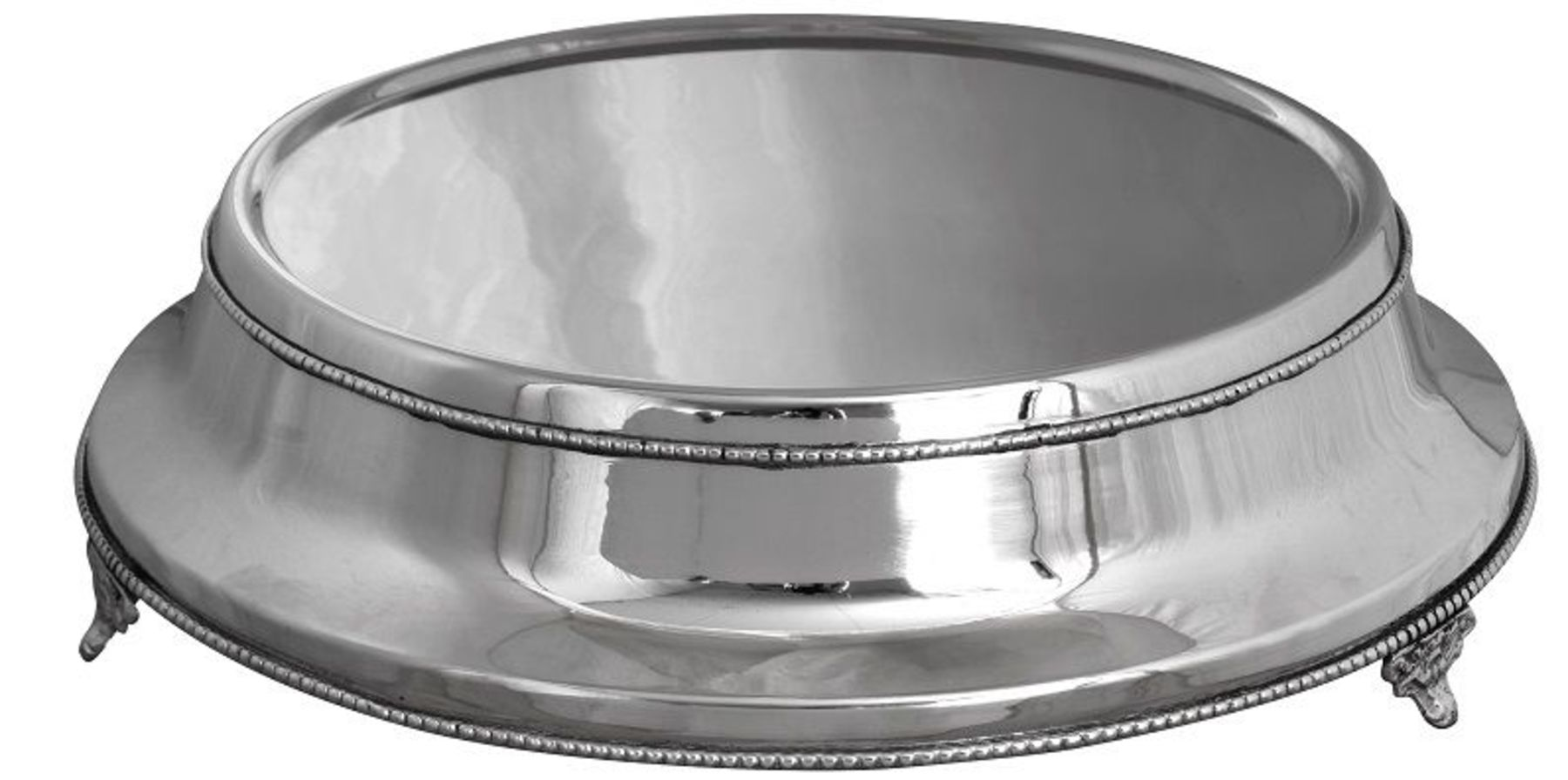 Traditional Cake Stand Nickel