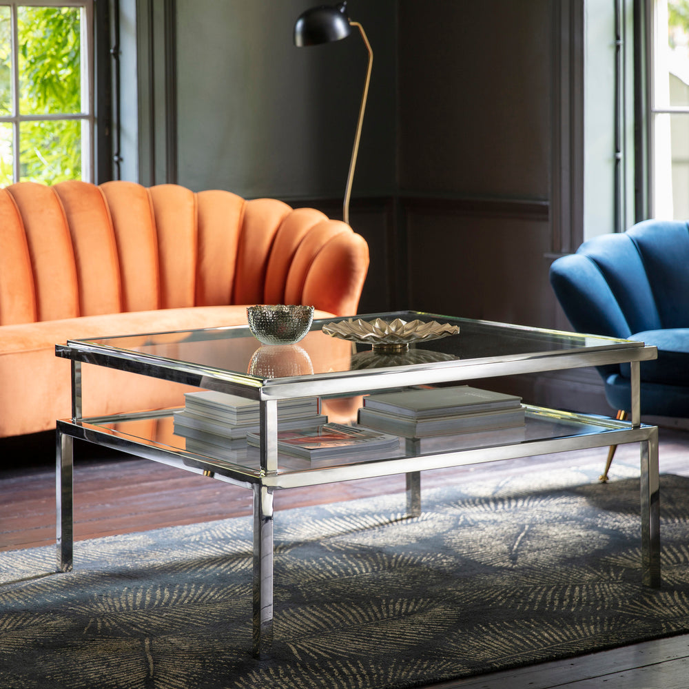 Saddle Coffee Table