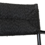 Safarai Arm Chair Black