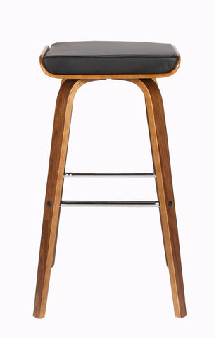 Beech Kitchen Stool  Black