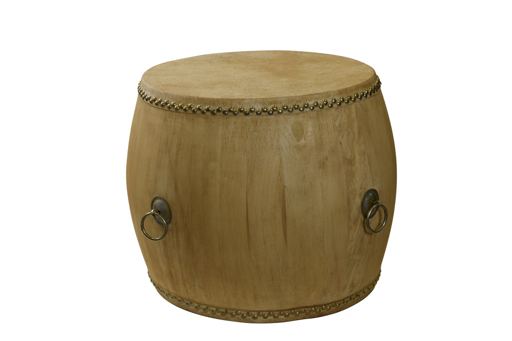 Empire Drum Table Natural