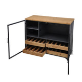 Acomby Low Wine Cabinet