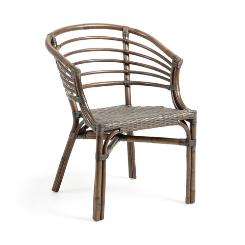 Carlotto Armchair Brown Rattan