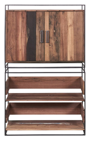Nako Bookshelf with Drawers