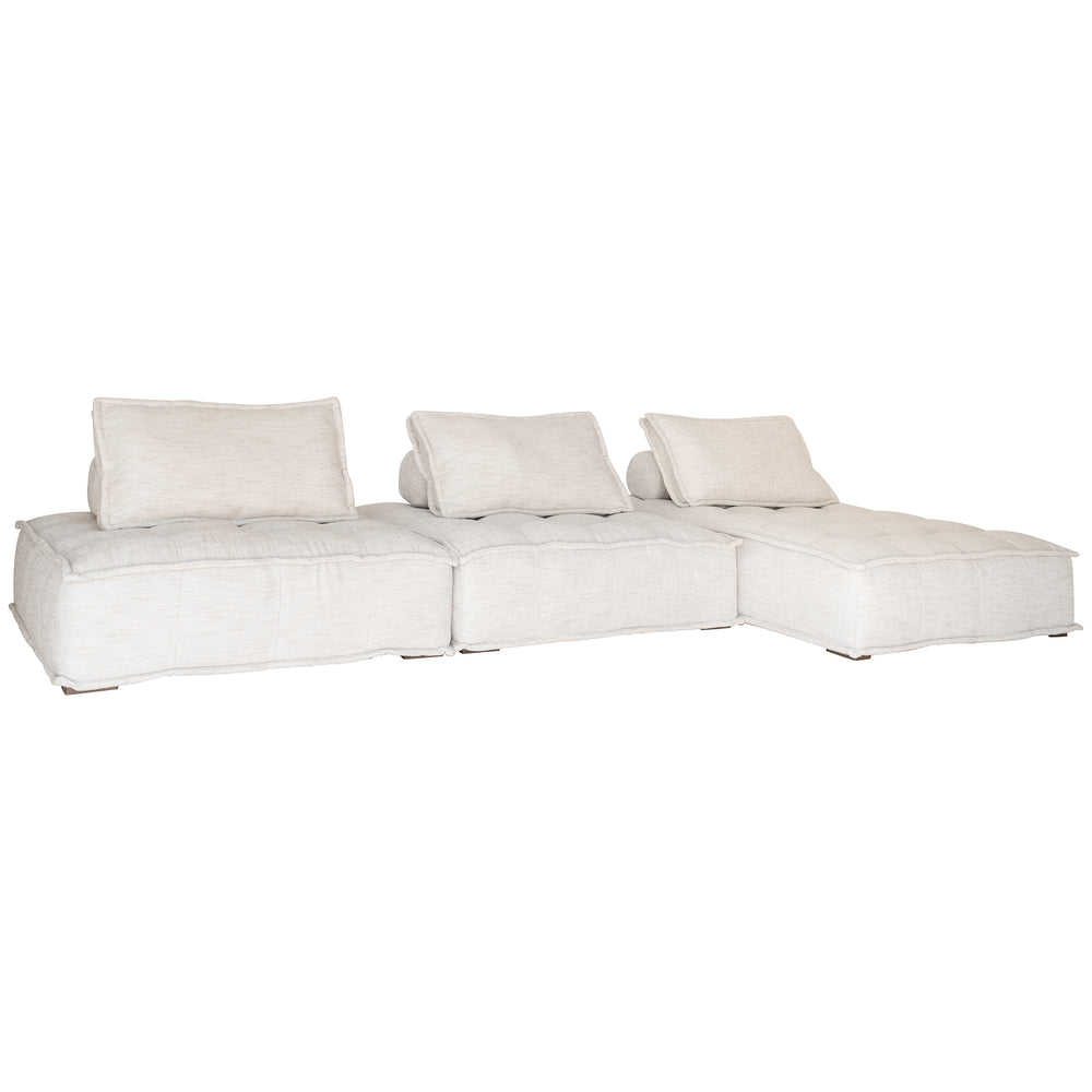 Collins Sofa Chaise Natural