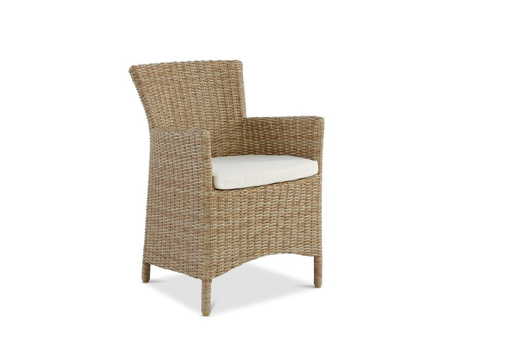 Saint Croix Outdoor Dining Chair Natural