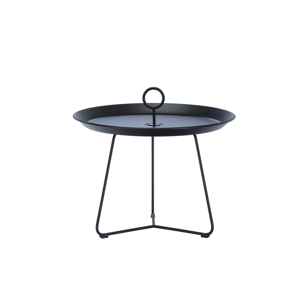 Eyelet Tray Table Black Medium