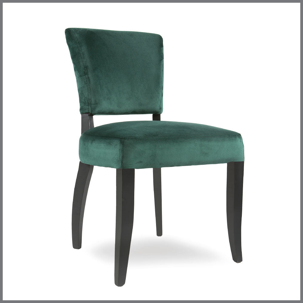 Harold Chair Emerald Green Velvet
