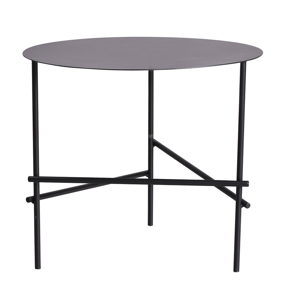 Baker Side Table Medium Black
