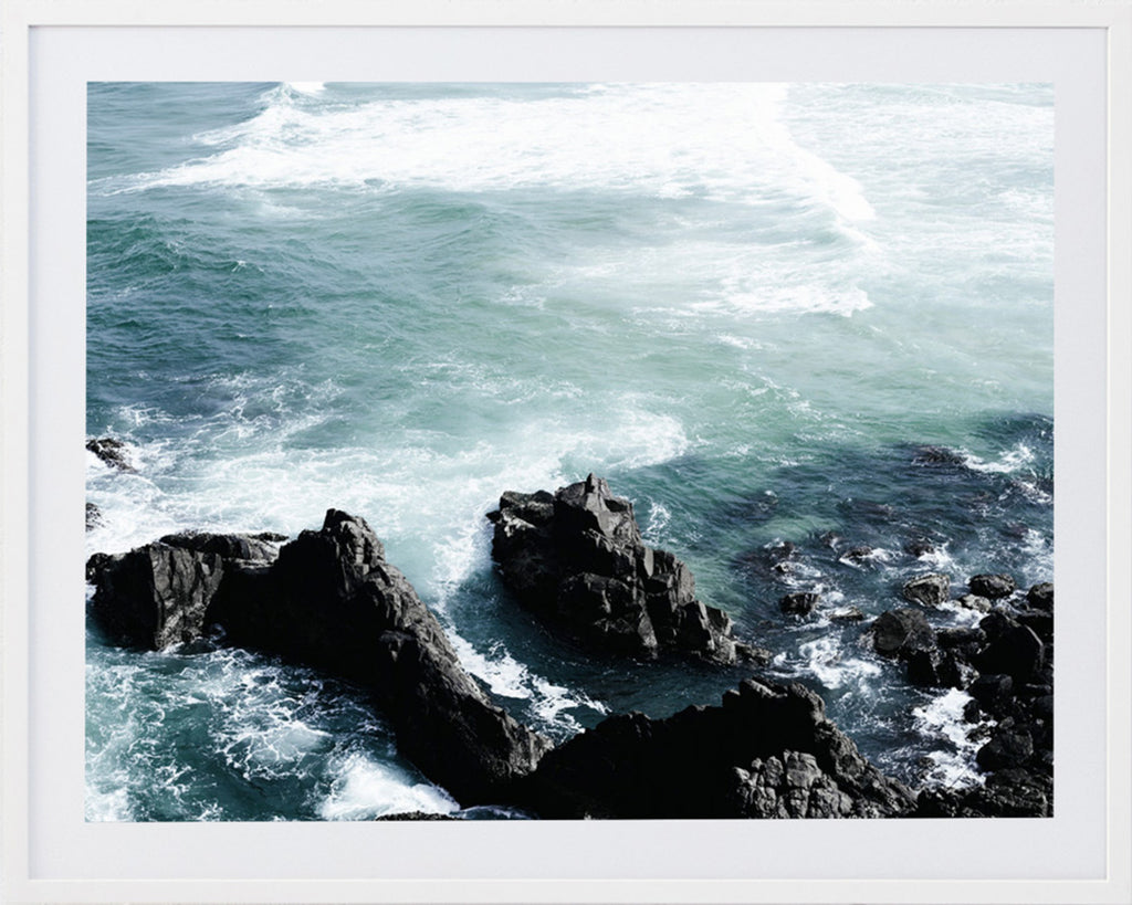 Sea 3 Framed Photographic Print