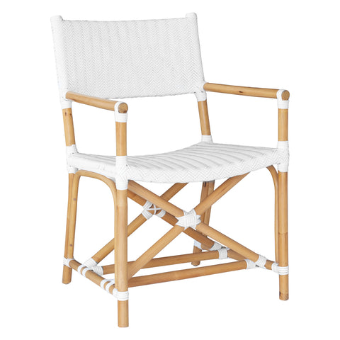 Safari Arm Chair White