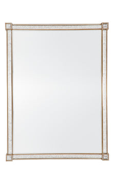 Cocktail Mirror Antique Gold
