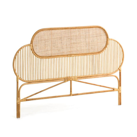Lola Rattan Queen Headboard Natural