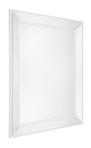 Zeta Cheval Mirror Antique Silver