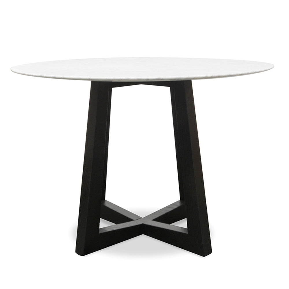 Kew Dining Table Black Small
