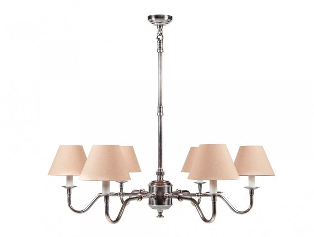 Prescott Chandelier Antique Silver