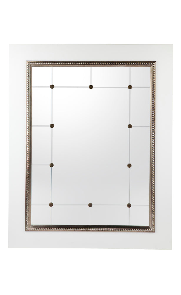 Columbo Wall Mirror White