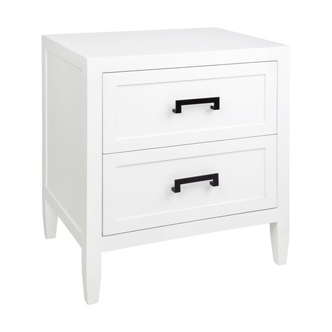 Harbour Bay Bedside White Large
