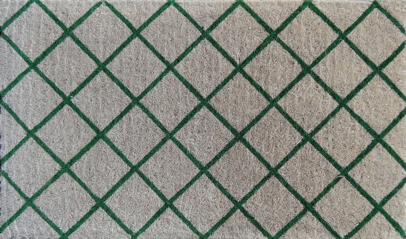 Green Trellis Regular Doormat