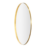 Bouvier Metal Round Mirror Electroplated Gold