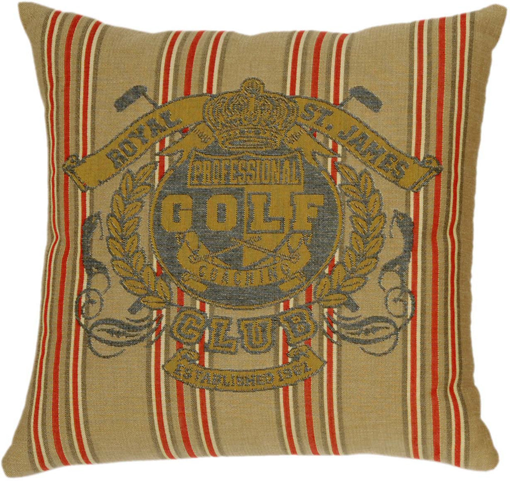 Sporting Crests Cushion Golf