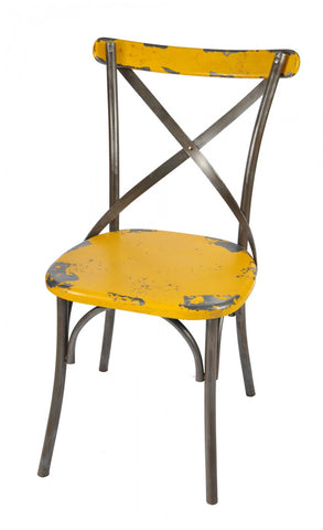 Substation Dining Chair Yellow