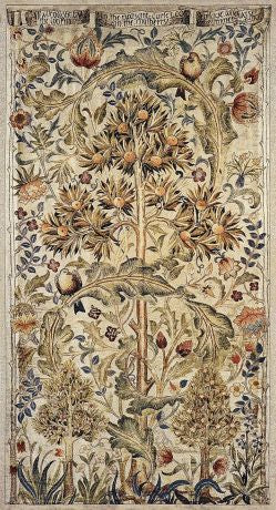 Summer Quince Tapestry with Rod