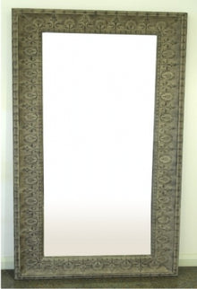 Taupe Medium Mirror