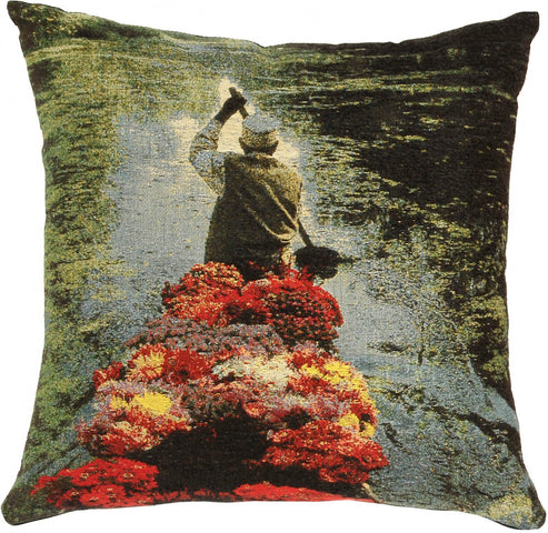 Tribal Cushion The Flower Seller