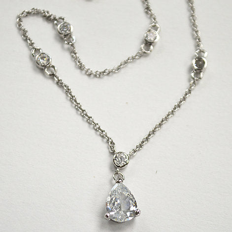 Sterling Silver Designer Inspired Necklace
