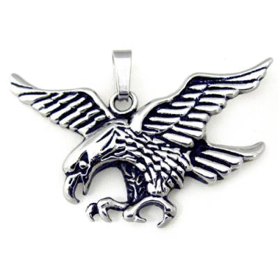 Stainless Steel Eagle Pendant