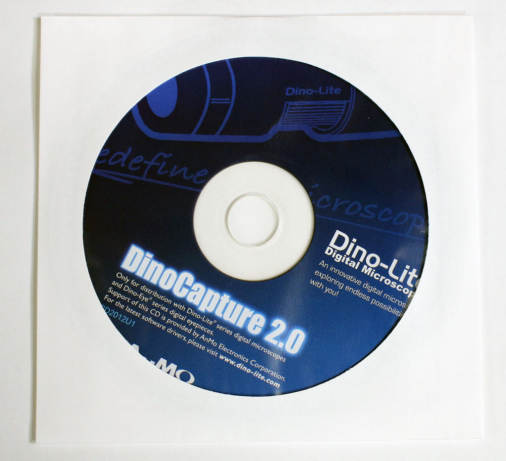 Installation CD: DinoCapture 2.0 Windows Software [Please Read Description Information]