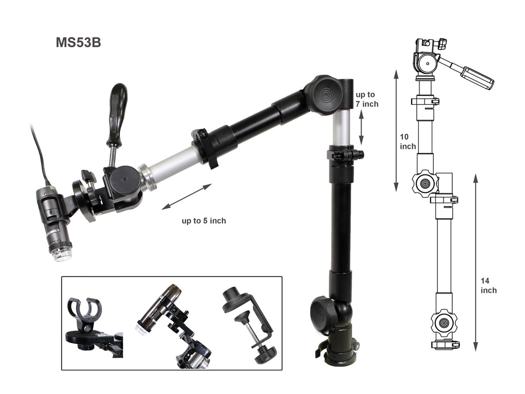 MS53B Jointed Articulating Mount
