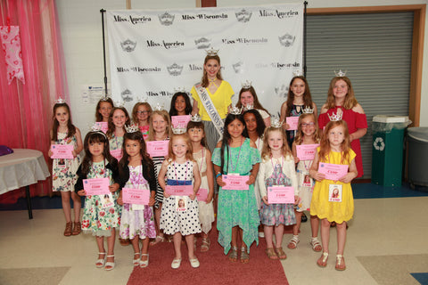 2018 Miss Wisconsin Princess Photo Package