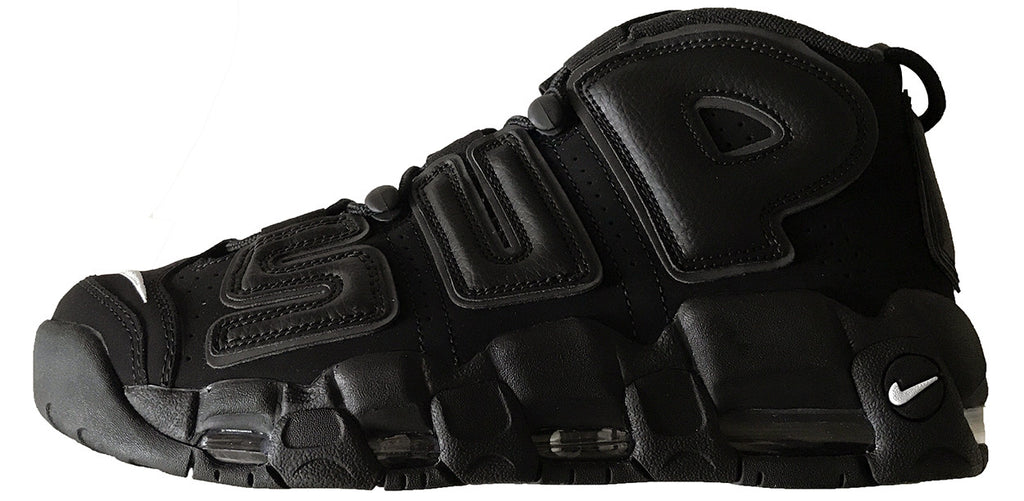"Supreme/Nike Air More Uptempo ""Black"""