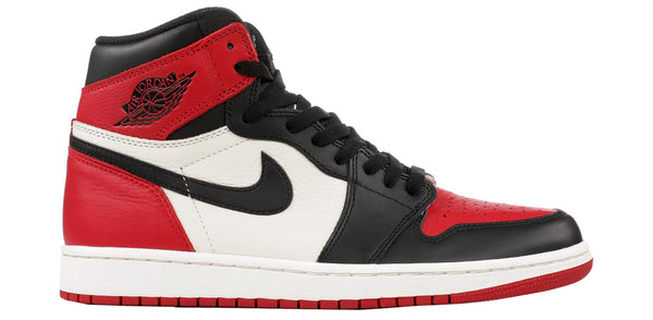 "Air Jordan 1 Retro Hi OG ""Bred Toe"""