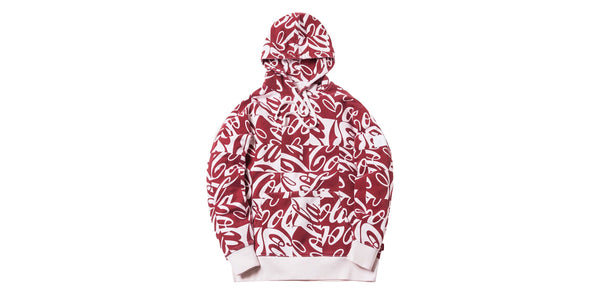 Kith x Coca-Cola Cubed Global Hoodie (Red)