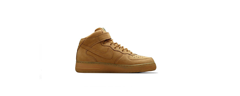 "Nike Air Force 1 Mid ""Flax"""