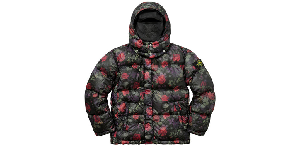 Supreme/Stone Island Lamy Cover Stampato Puffy Jacket