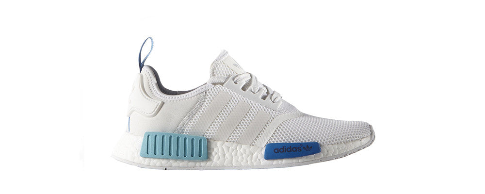 ce7b747d6 ... Blue White Sneakers  adidas NMD R1 Womens ...