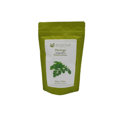 Moringa (Moringa oleifera) Dried Leaves 50g 1.76 oz | Biokoma.com