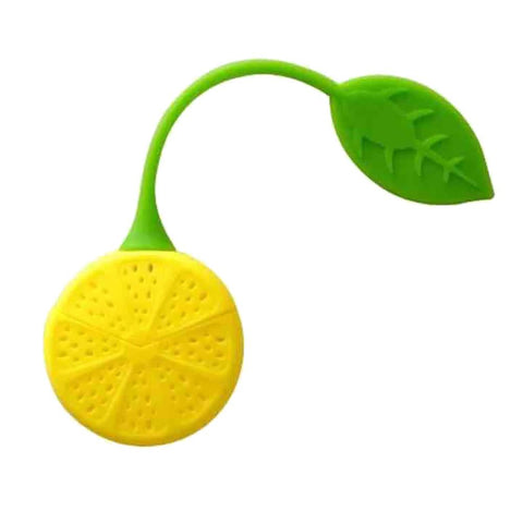 Accessories - Silicone Lemon Tea Herb Infuser Strainer