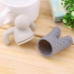 Accessories - Silicone Little Man Tea Herb Infuser Strainer