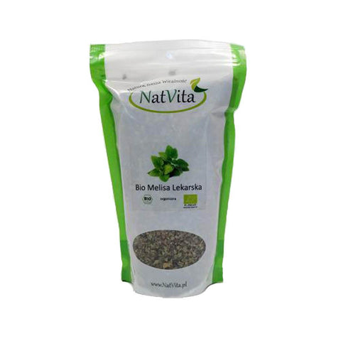 Bio Organique Hebrs - BIO Lemon Balm Melissa Officinalis Herb Leaf Dried 250g 8.8 Oz Calming Nervous