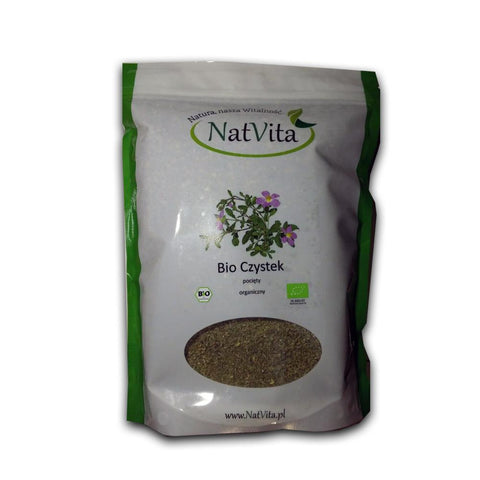 Bio Organique Hebrs - Cistus Incanus Tea 100% Bio Organique Herbs, BIO Certified Czystek, (Rock Rose) 500g