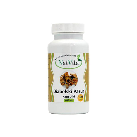 Bio Organique Hebrs - Devil's Claw (Harpagophytum Procumbens) 200 Capsules (2x100) 400mg